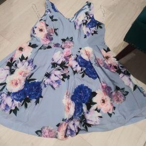City Chic floral dress